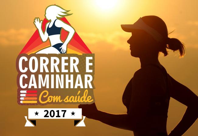 """Inscrições para a 4ª etapa oficial do circuito """"Correr e Caminhar com Saúde"""" serão abertas nesta quinta-feira (10)"""
